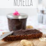 Selbstgemachtes Nutella. Die gesündere Variante