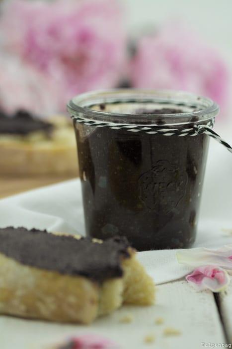 Selbstgemachtes Nutella Schokoaufstrich Nuss-Nougat-Creme Rezept