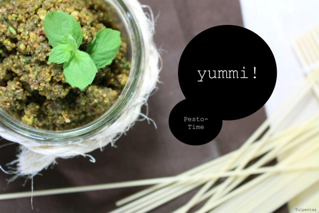Pistazien Pesto Rezept Minze ohne Parmesan