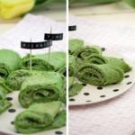 Pfannkuchen ganz in Grün – Der Picknick-Snack