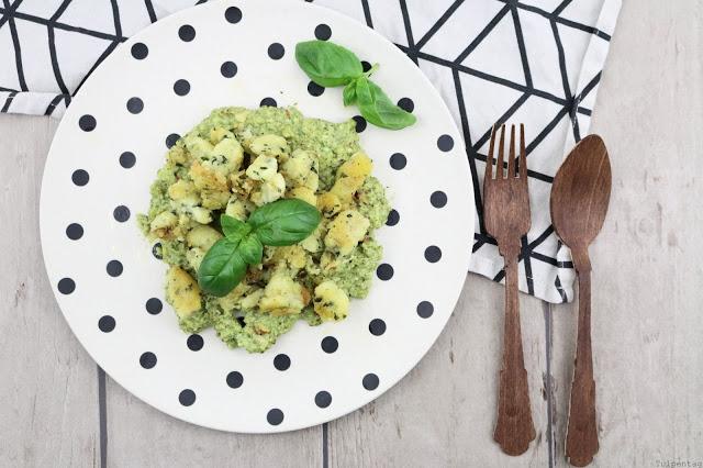 Basilikum-Gnocchi mit Basilikum-Pesto
