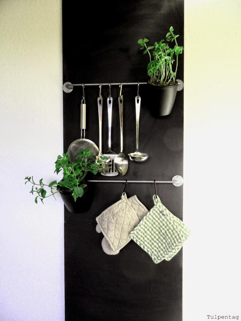 ordnung in der k che die tafelwand tulpentag der blog. Black Bedroom Furniture Sets. Home Design Ideas