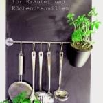 Ordnung in der Küche – Die Tafelwand