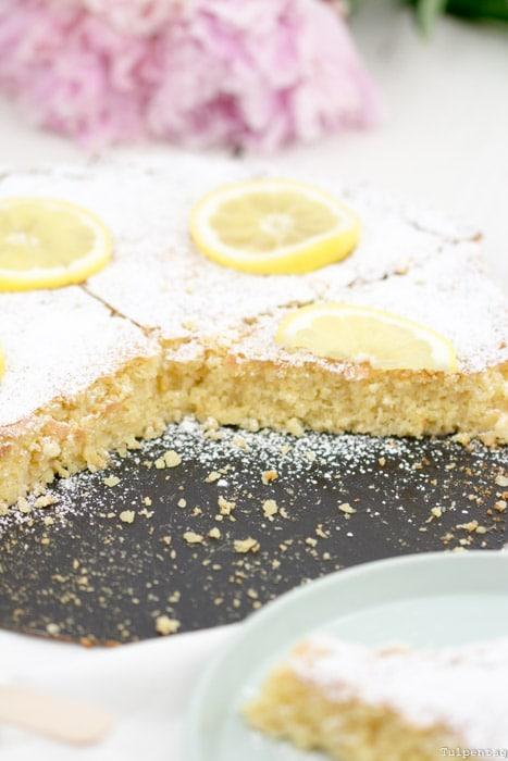 Mandeltarte Zitronen Mandelkuchen ohne Mehl Spanisch Rezept