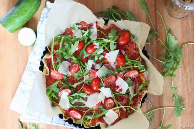 Low Carb Pizza Pizzaboden Rezept