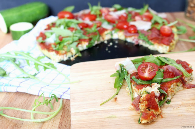 Low Carb Pizza Pizzaboden Rezept