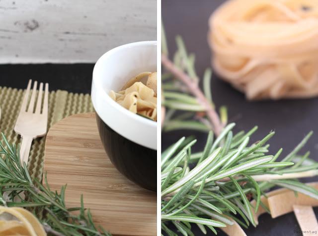 pasta jakobsmuscheln rosmarin schnell butter rezept