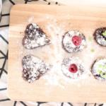 Rührkuchen-Happen mit Schoko-Mohn-Geschmack