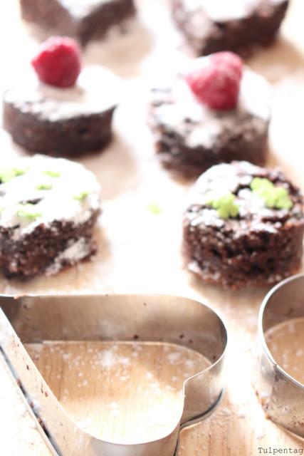 Rührkuchen Happen Fingerfood Kuchen Dessert gesund