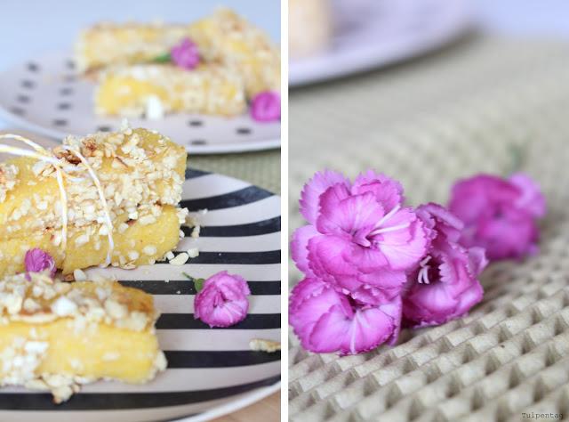 polenta dessert orange mandeln rezept