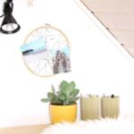 DIY Memoboard aus Stickrahmen