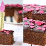 Rührkuchen-Sticks mit Schokolade
