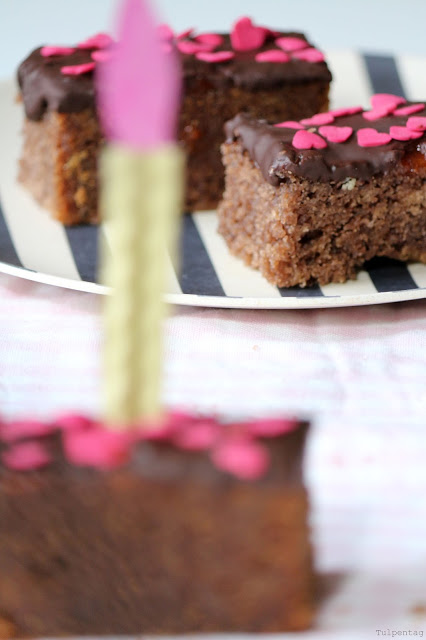 Rührkuchen Sticks Geburtstag Kuchen Rezept Schokolade Marmelade