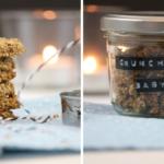 Sesam-Honig-Herzen und ein crunchiges Müsli