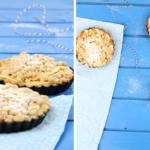 Apfelkuchen-Tartelettes mit Lebkuchen-Streuseln