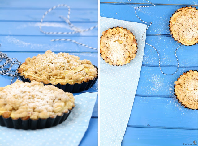 Apfelkuchen Kuchen Streusel Lebkuchen Weihnachten Rezept