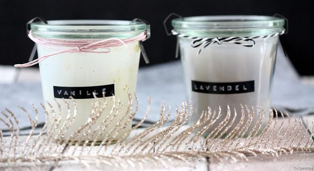 Kerzen selbst gießen DIY