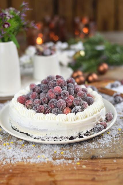 Punschkuchen Weihnachten Kuchen Oreo No Bake