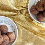 Goldene Pralinen zum Jahresende {Gastbeitrag von HOLZ&HEFE}