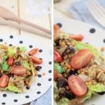 Gesunder Rote-Linsen-Salat