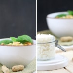 Vegetarisches Curry mit feiner Erdnussnote