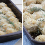 Zupf-Brötchen mit Parmesan-Kruste