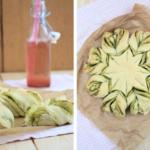 Pesto-Brot-Blume