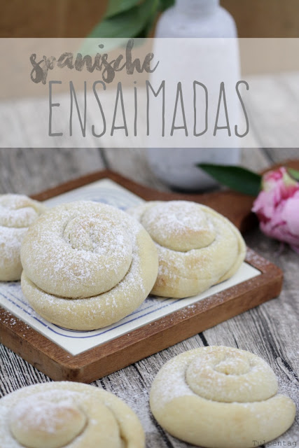 ensaimadas spanisches gebaeck hefeschnecken rezept