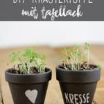 DIY Kräutertöpfe mit Tafellack