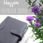 Bloggen: Hilfreiche Seiten und Tools