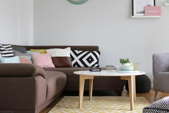 Wohnzimmer Deko Pastell Inspirierende
