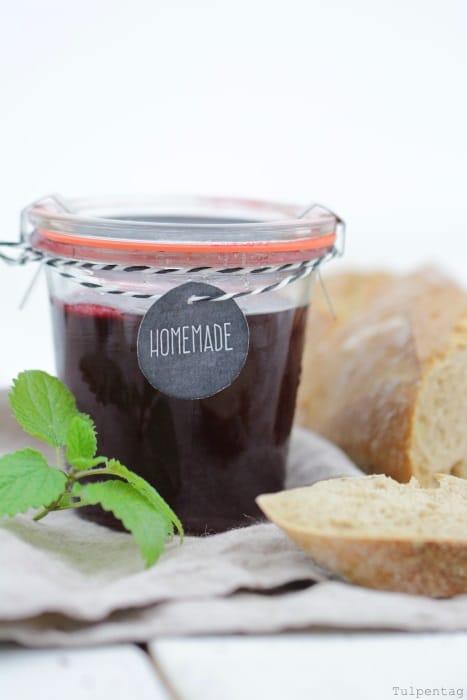 Schneller-Kirsch-Gelee Marmelade Rezept