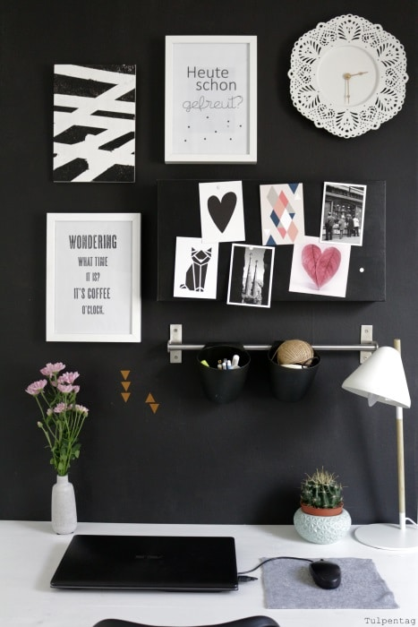 Büro-Arbeitsplatz-Deko-Homeoffice