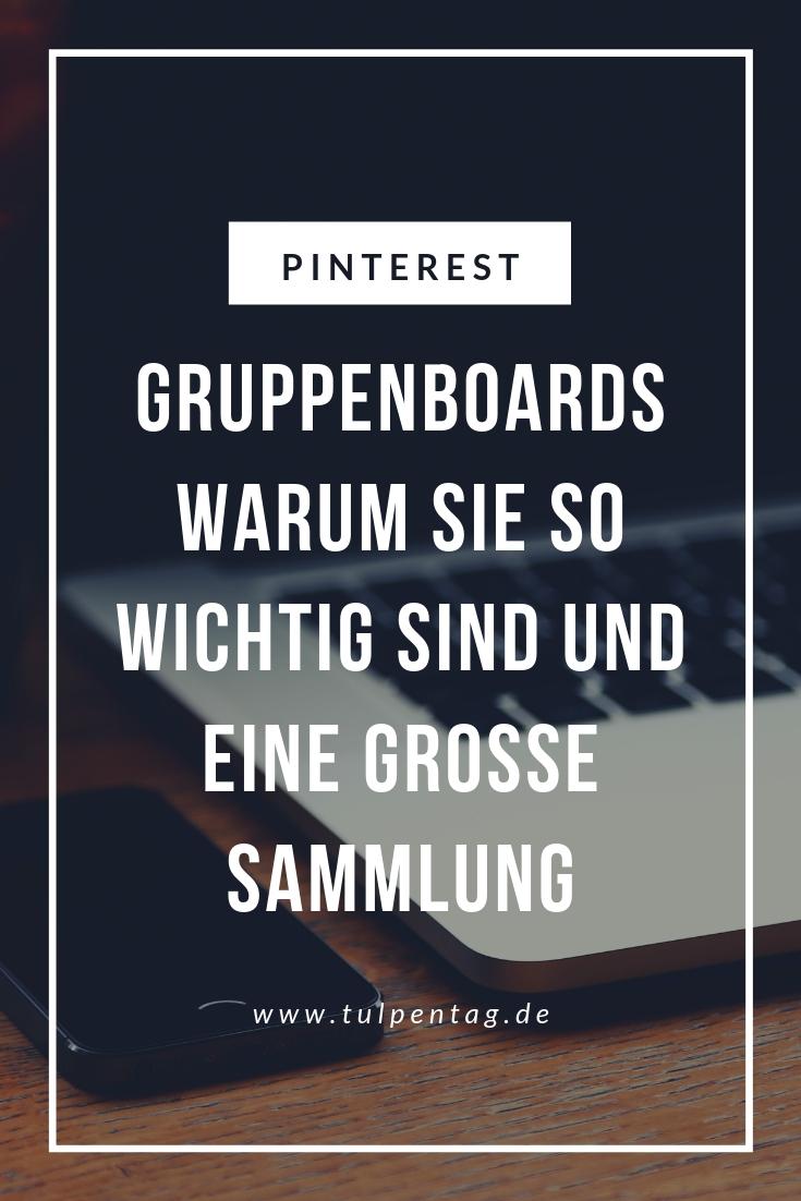 Pinterest Gruppenboards Anleitung und Sammlung