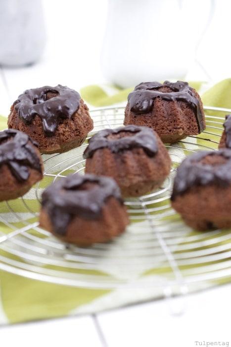 schoko-mini-gugl Gugelhupf Mini Kuchen Rezept