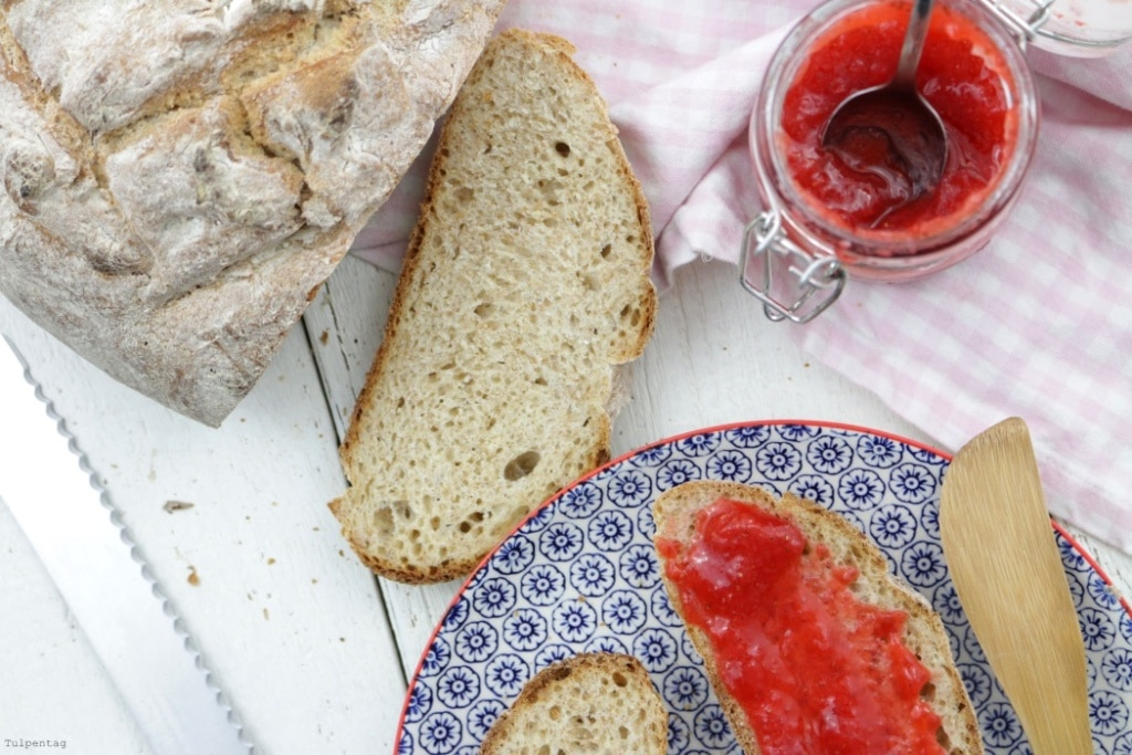 joghurtbrot Joghurt Brot backen Rezept