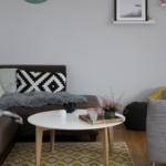 Gemütlichkeit ins Wohnzimmer bringen