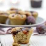Zwetschgen-Zimt-Muffins