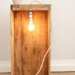 DIY Lampe mit Textilkabel