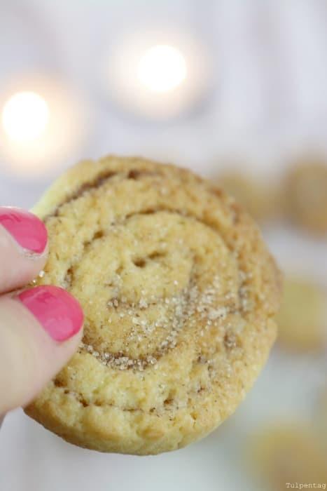 Zimtschnecken Plätzchen Weihnachten Kekse backen Zimt