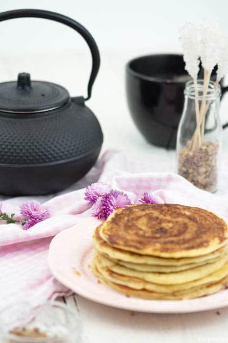 Zimtschnecken Pancakes Rezept Zimt Kandiszucker Kandis Diamant Zimtschnecken-Pancakes