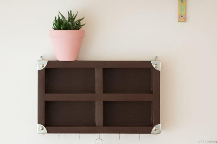 diy schl sselbrett tulpentag foodblog. Black Bedroom Furniture Sets. Home Design Ideas