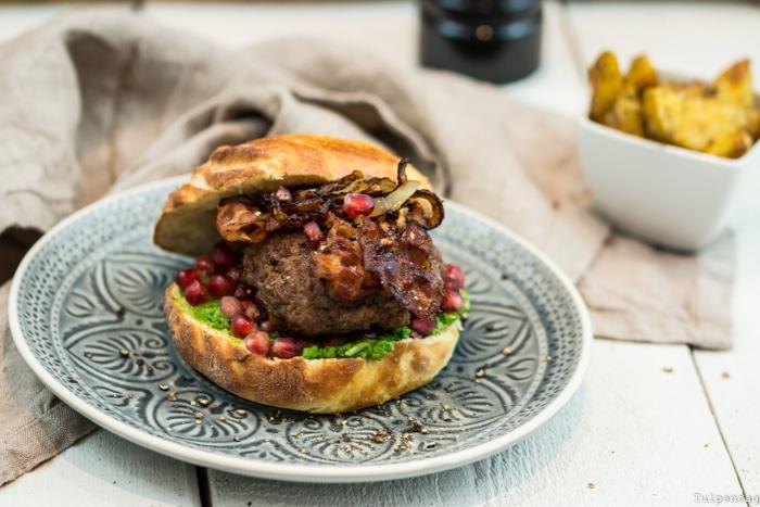 Burger Hackfleisch Rinderhack Rezept selbstgemacht Buns Brötchen Pattys