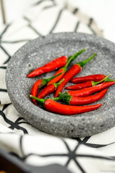 Taco-Pfanne Hackfleisch Auflauf Tortilla Chips mexikanisch Rezept Chilis