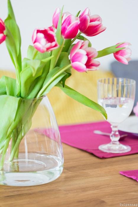 Frühling Deko bunt Tipps einrichten Frühlingsdeko Tulpen