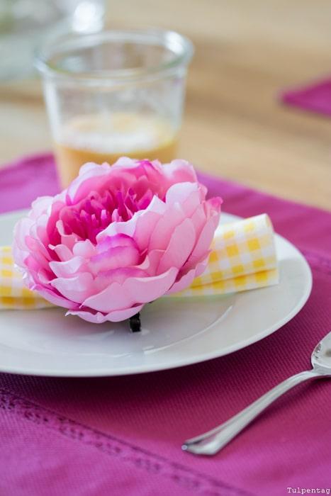 Frühling Deko bunt Tipps einrichten Frühlingsdeko