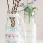 DIY. Kleines Dankeschön in Vasen