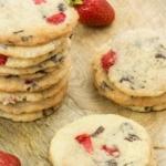 Erdbeer-Schoko-Cookies