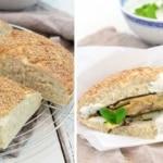 Türkisches Fladenbrot und vegetarischer Döner