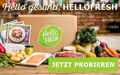 HelloFresh Kochboxen